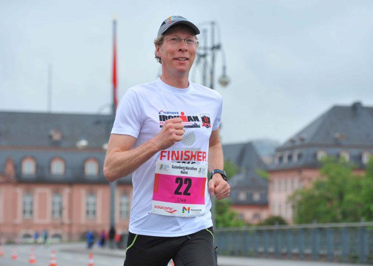 20. Gutenberg-Marathon: Erfolg für TSG-Läufer Uwe Kemmer