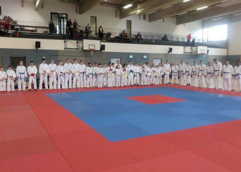 Ju-Jutsu Rheinland-Pfalz-Meisterschaften in Bretzenheim